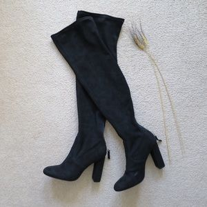 Steve Madden Emotions Suede Over the Knee Boots